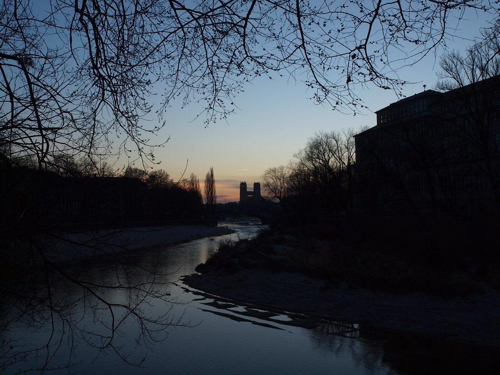Maximiliankirche in the Evening Light