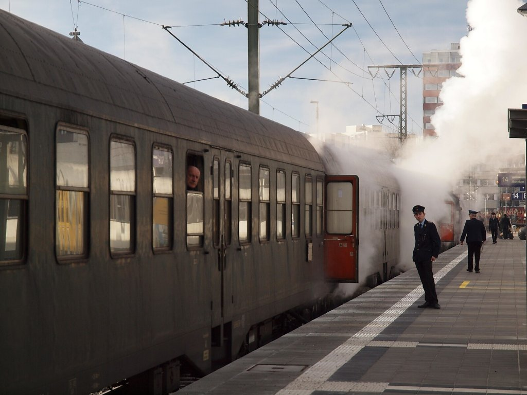 Historical Train at Ostbahnhof