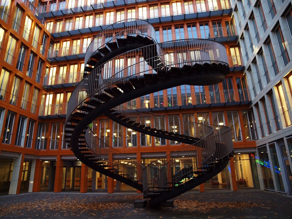 """Umschreibung"", endless stairway, by Olafur Eliasson"