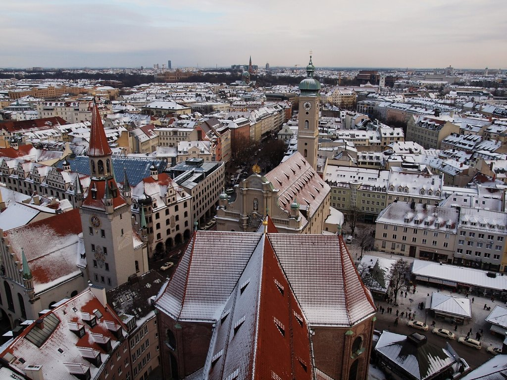 """View from """"Alter Peter"""", December 2010"""
