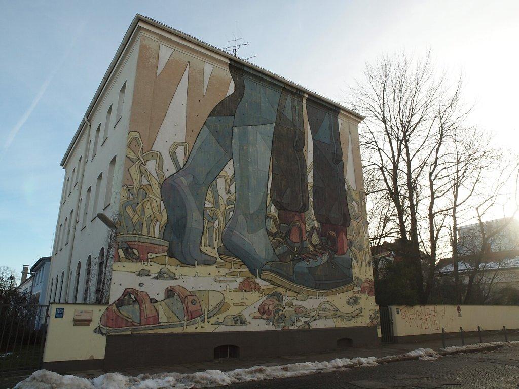Fresco at Schwere Reiter Cultural Center