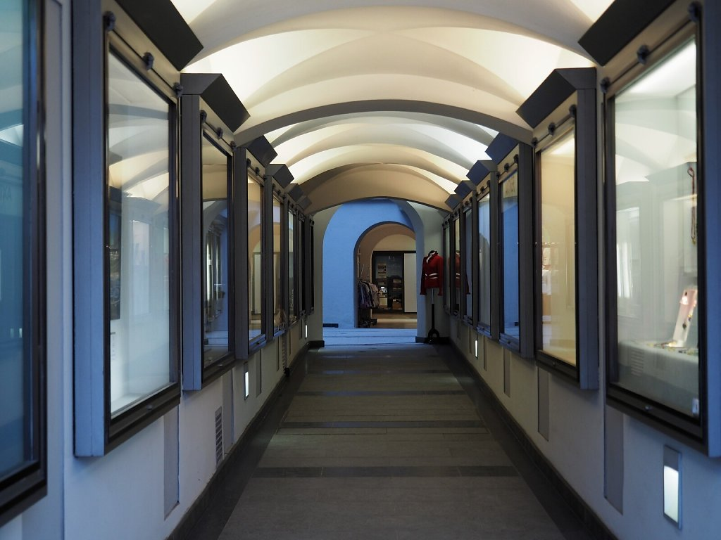 Shopping Arcade in Residenzstrasse