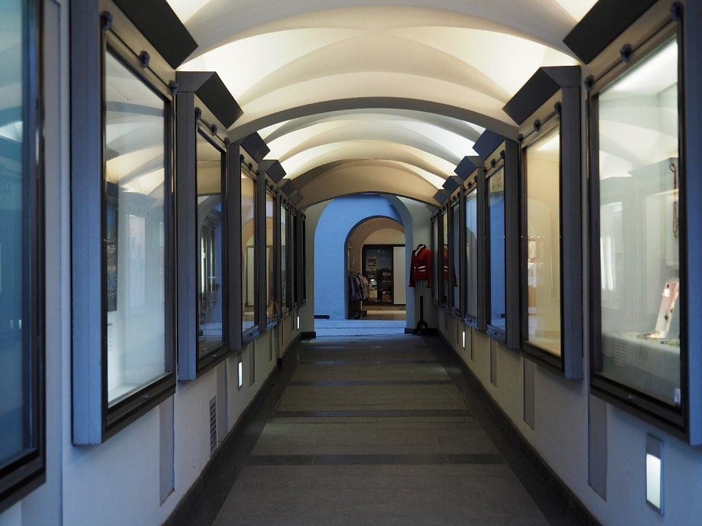 Shopping Arcade in Residenzstrasse